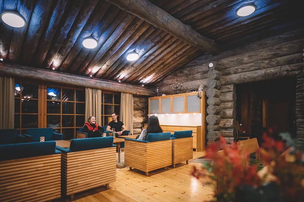 Log Villa Borealis Luosto