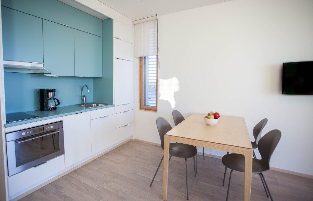 Apartment Uno kitchenette