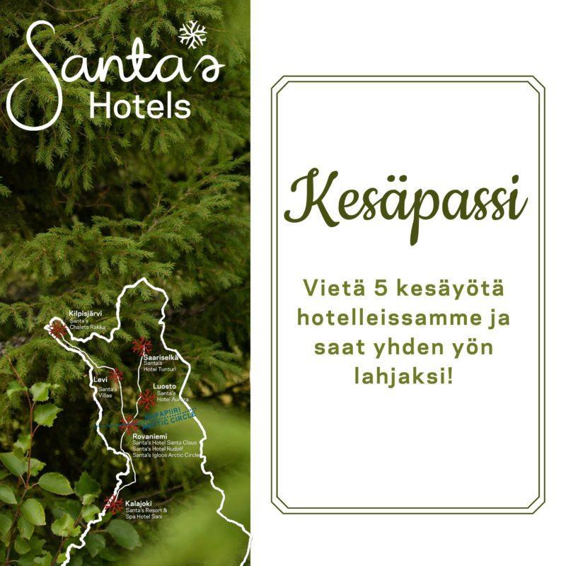 Santas Hotels kesäpassi
