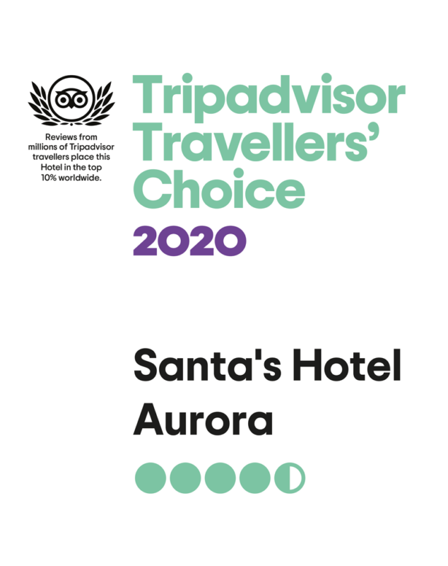 santa's Hotel Aurora Tripadvisor Traveller's Choice 2020