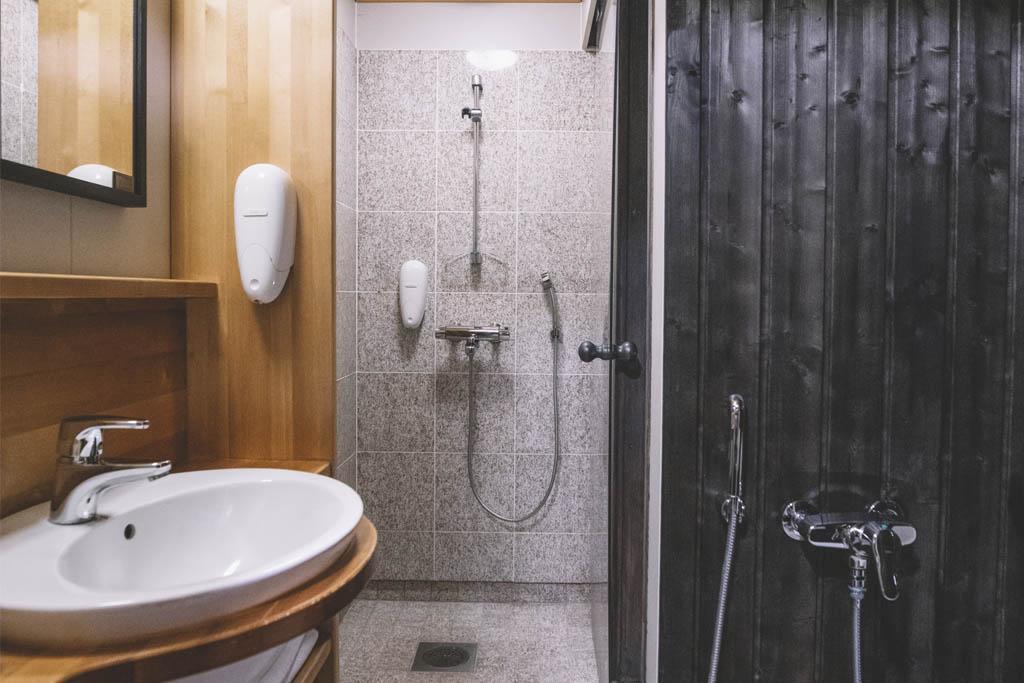 Hotel Aurora Luosto Bathroom