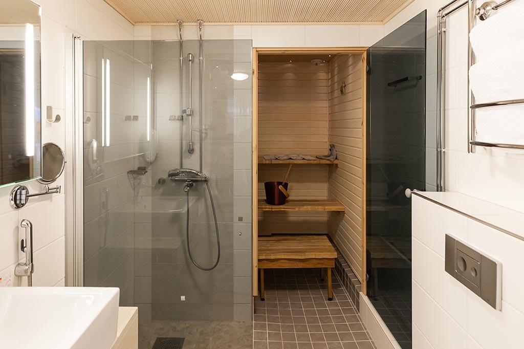 Hotel Aurora Luosto Suite Sauna