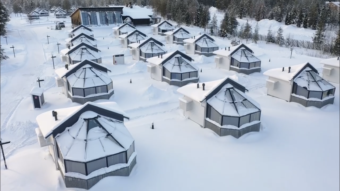 Santas Igloos Arctic Circle igluhotelli