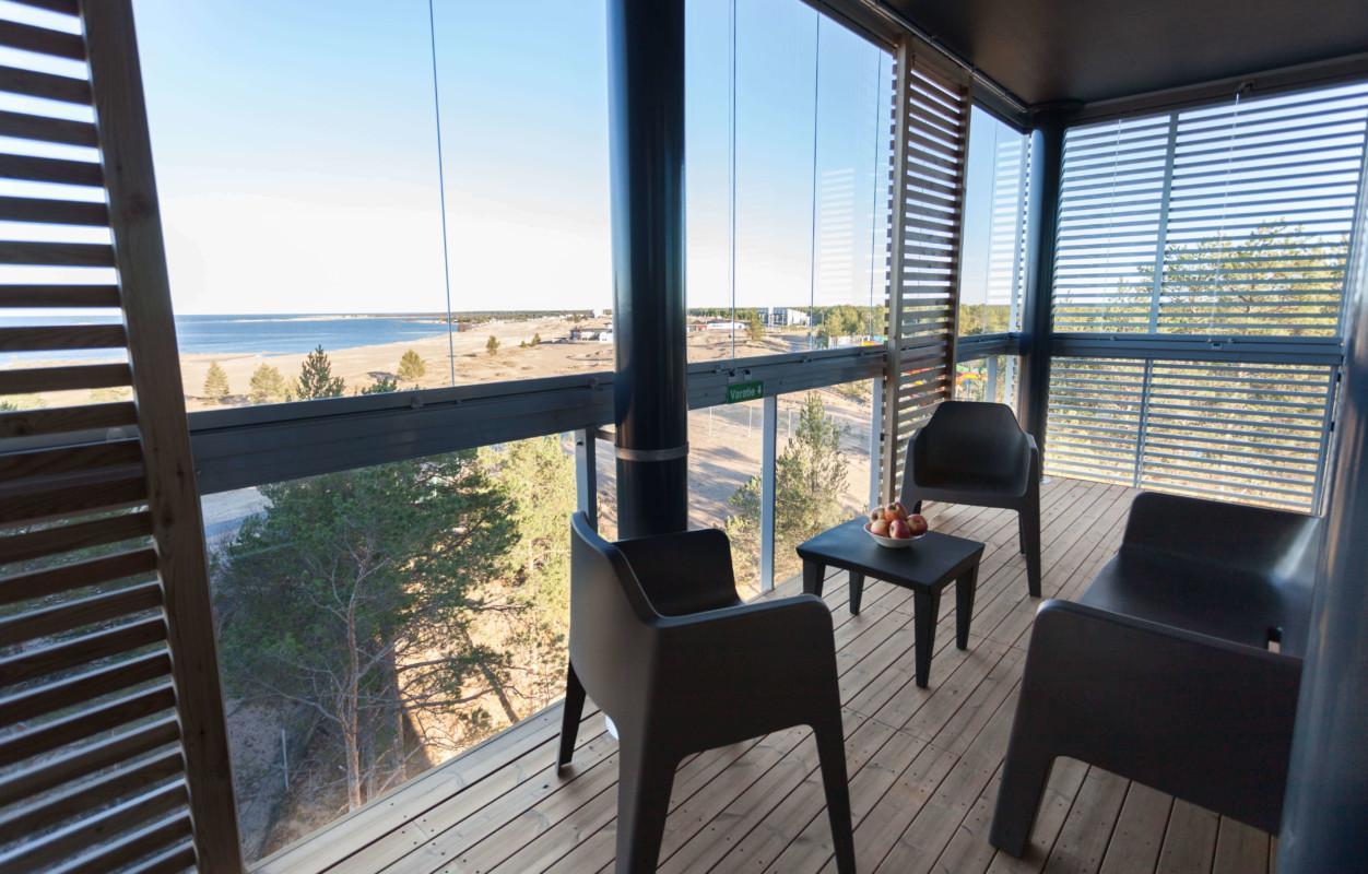 Hotel Sani Apartment Premium Suite balcony